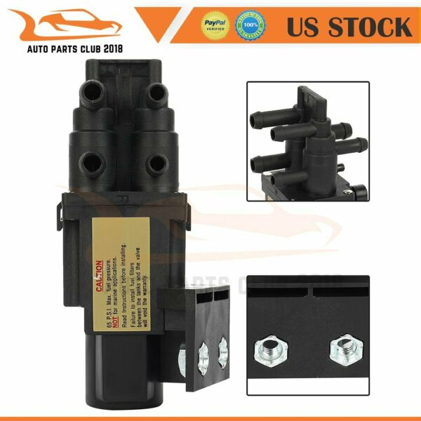 6 Port Fuel Gas Dual Tank Selector Valve Fit For Chevrolet K3500 Dodge D150