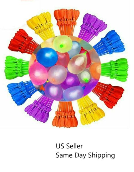 2 PACK 222pcs of Instant water Balloons Self Sealing pre tied water balloon $7.99