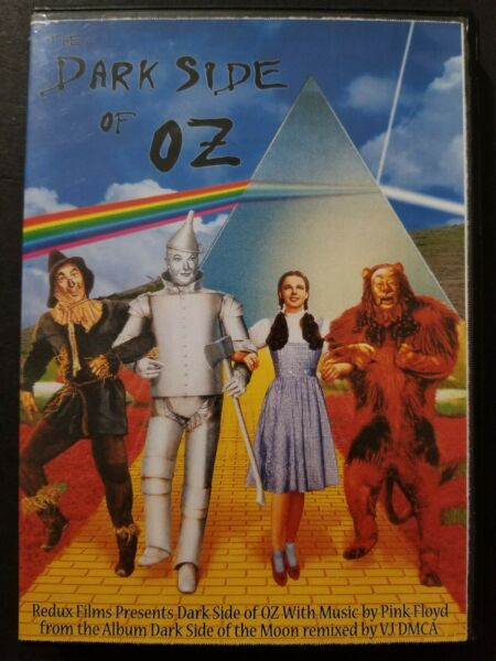 Dark Side of Oz (DVD-R 2005) Pink Floyd & The Wizard of Oz Synched $60.00