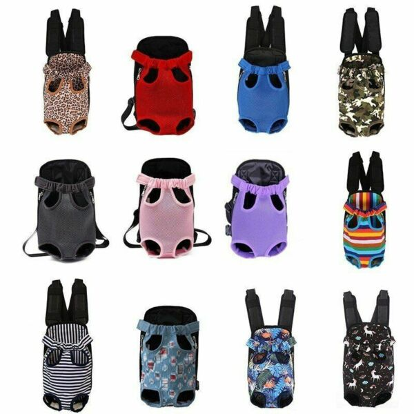 Adjustable Dog Backpack Kangaroo Breathable Front Puppy Dog Bag Pets Carrying $33.99