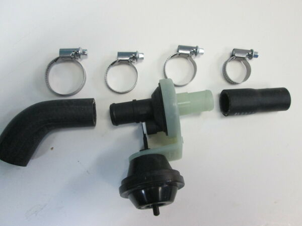 PORSCHE 944S 944S2 968 HEATER HOSE KIT WITH NEW VALVE AND CLAMPS
