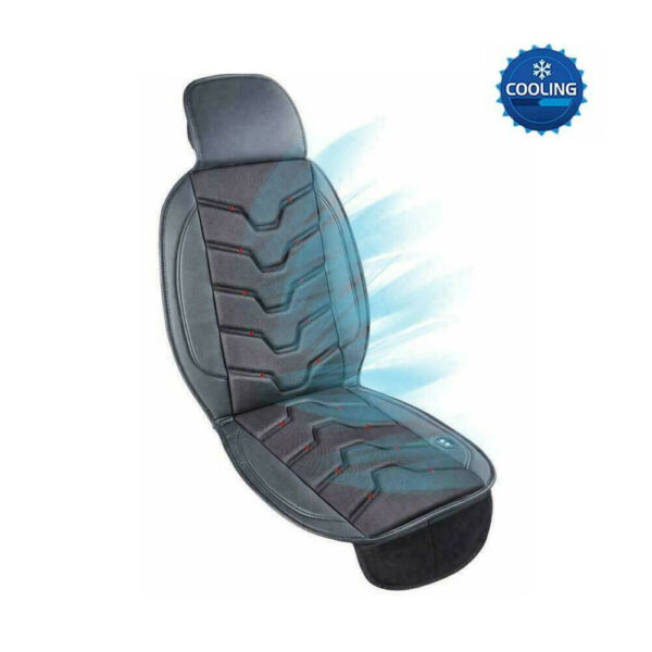12V Universal Cooling Car Seat Cushion Cover Breathable Air Flow with Holes $28.79