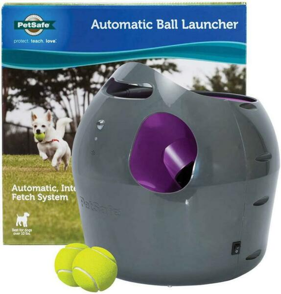 PetSafe Automatic Ball Launcher PTY00-14665 Dog Toy Ball Throwing Machine  $115.00