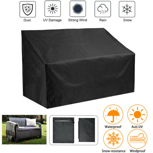 Outdoor Waterproof Garden Furniture Cover High Back Bench Couch Sofa Cover US $19.09