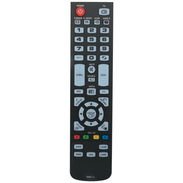 New Replace Remote Control for Westinghouse TV LD 2240 LD2240