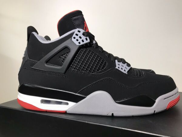 Jordan 4 bred 2019 size 9.5 *Pre Owned* amp; Worn Under 10 Times $360.00