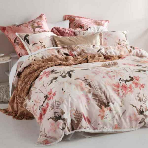 Linen House Holidae Quilt Duvet Doona Cover Set 100% Cotton 2020 Summer Style AU $191.99