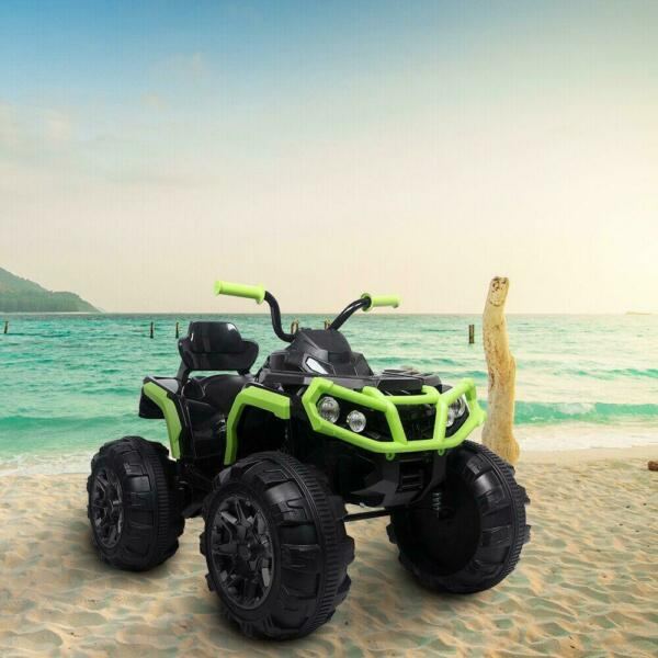 12V Kids Ride On ATV Car Electric Toy Quad 4 Wheels Suspension Music Light $175.95