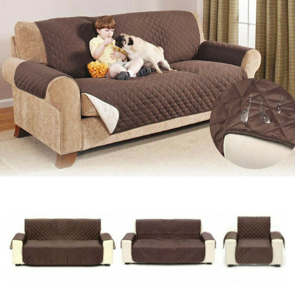 1 2 3 Seat Sofa Cover Couch Loveseat Slipcover Pet Dog Mat Furniture Protector $16.99