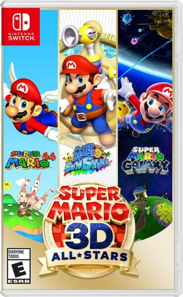 Super Mario 3D All Stars Physical Copy Nintendo Switch Available NOW $69.99
