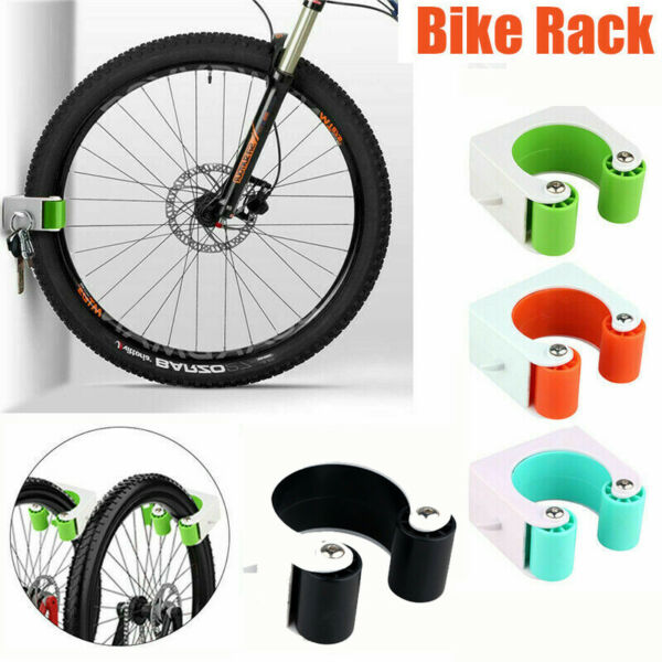 Bike Rack Storage Buckle Wall Mount Hanger Hook Parking Mountain Bicycle Rack $17.58