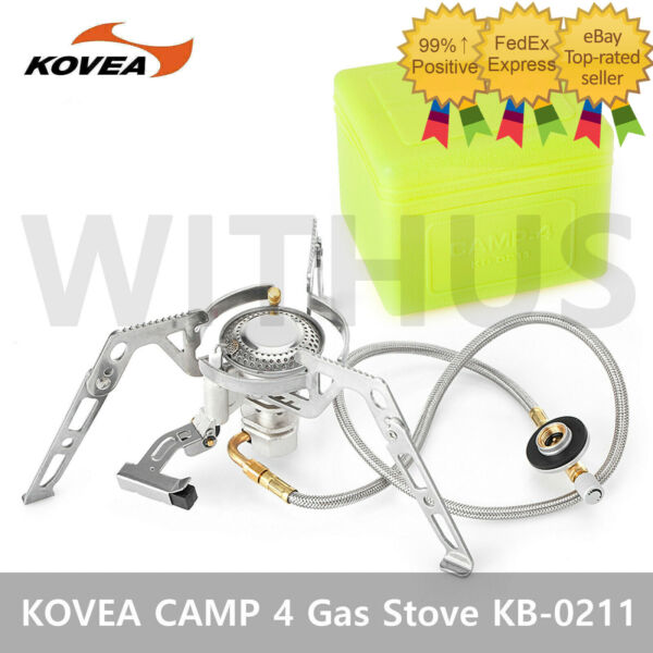KOVEA Moonwalker KB 0211 Camping Hiking Cooking Climb GAS Stove CAMP 4