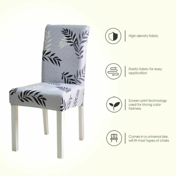 Stretch Spandex Chair Cover Dining Room Wedding Party Elastic Furniture Covers $12.99