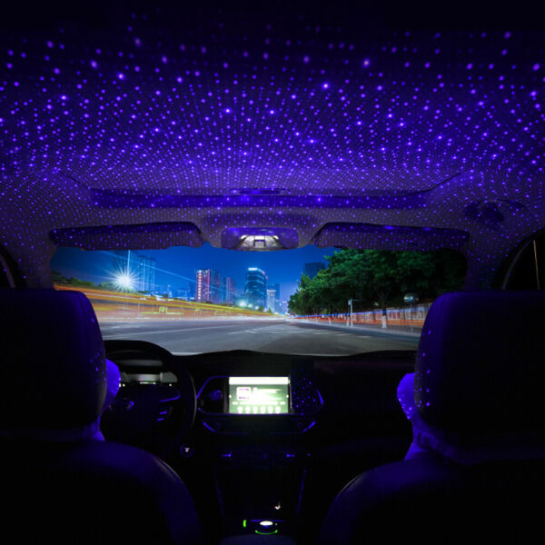 USB Car Accessories Interior Atmosphere Star Sky Lamp Ambient Night Lights US $8.45