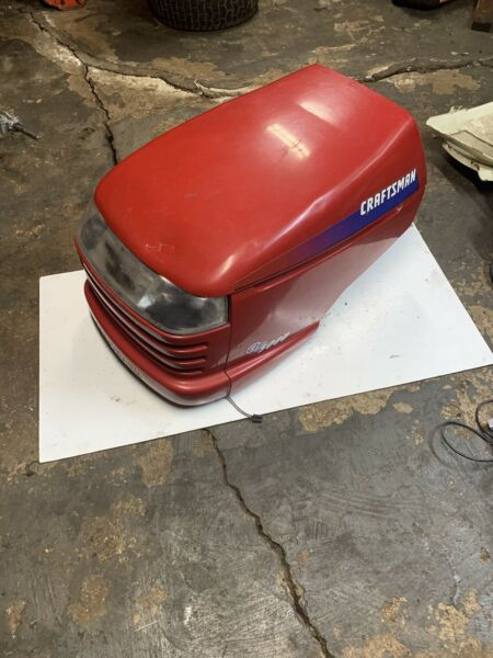 Craftsman Tractor Hood GT 5000 Lawn Mower Red Model 917.276101 See All Pictures