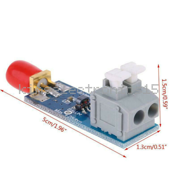 1:9 HF Antenna Balun Tiny Low Cost 1:9 Balun Frequency Band Long Wire Aerial F $2.97