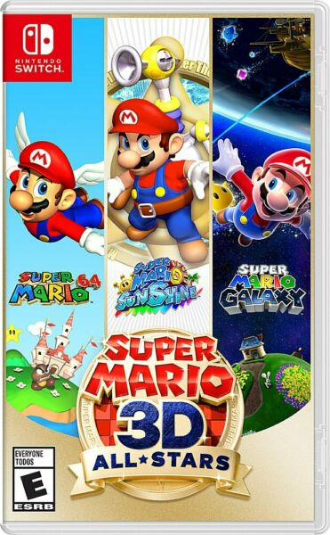 Super Mario 3D All Stars Nintendo Switch Brand New Sealed Physical Copy $69.88