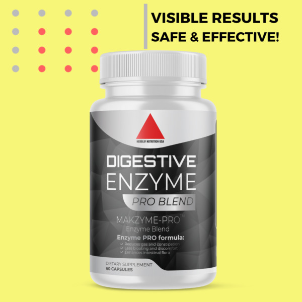 Digestive Enzymes w Prebiotic amp; Probiotics Gas Constipation amp; Bloating Relief $12.90