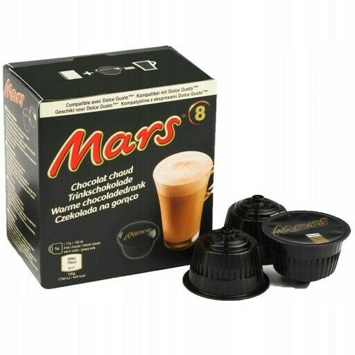 MARS Bar chocolate bar hot chocolatepods for Dolce Gusto 10 capsules FREE Ship