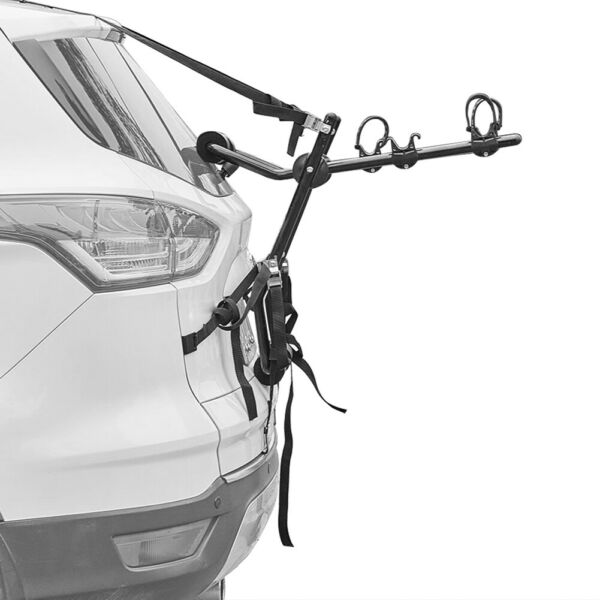 2 Bike Trunk Mount Hatchback SUV Car Sport Bicycle Carrier Cycling Stand Storage $85.49