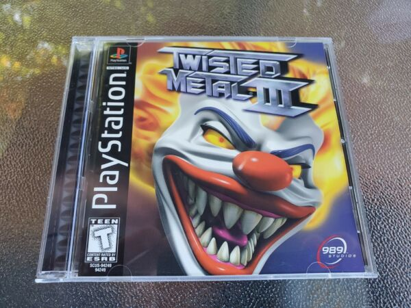 PS1 Twisted Metal 3 CIB Complete Tested And Works Playstation