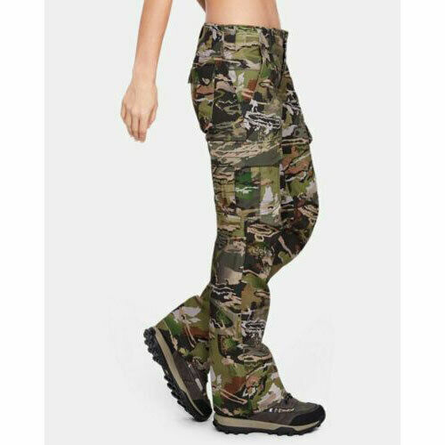 Under Armour Women#x27;s Storm Hunting Camo Pants 1254097 940 Camouflage NWT