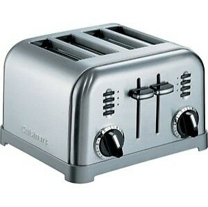 Cuisinart® 4 Slice Toaster in Stainless Steel