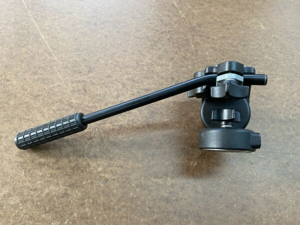 Bogen 3130 Fluid Video Tripod Head w QR plate Manfrotto #128RC