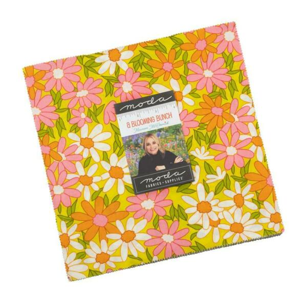 Moda Layer Cake a Blooming Bunch Maureen McCormick 10quot; x 10quot; 100% Cotton