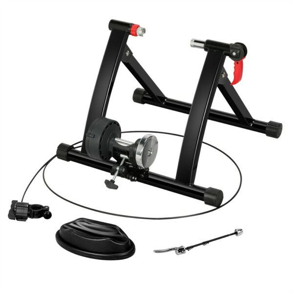 Bike Trainer Stand Magnetic Bicycle Stationary Stand Wired 24quot;–28quot; $77.00
