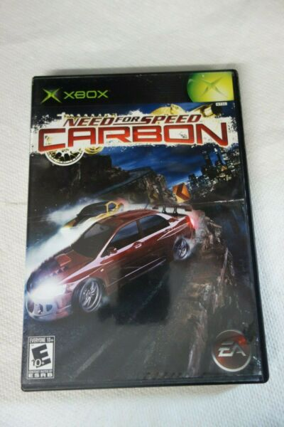 XBOX NEED FOR SPEED CARBON GAME ONLY $9.99