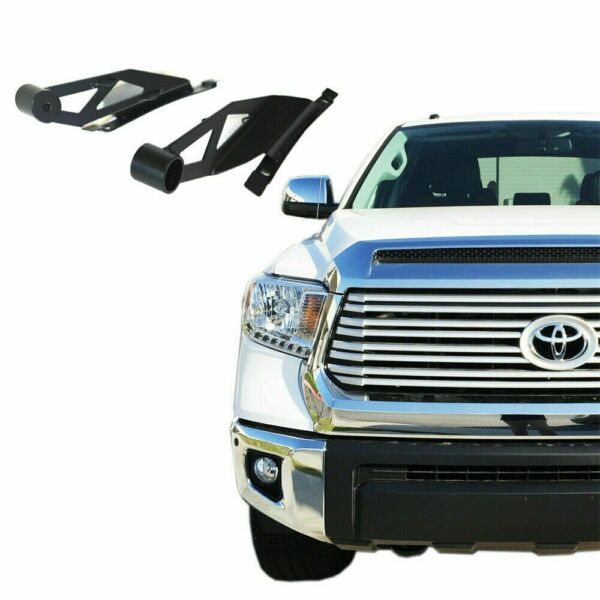 50quot; Curved LED Light Bar Mounting Brackets Windshield for Toyota Tundra 4WD 2WD