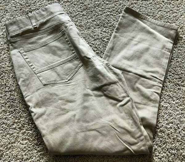 Mens Burlap Brown Iron Co Patriot Classic Straight Leg Pant 32X30