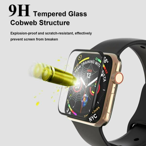 Apple Watch iWatch 6 5 4 3 2 SE Tempered Glass Screen Protector 38 40 42 44mm $2.95