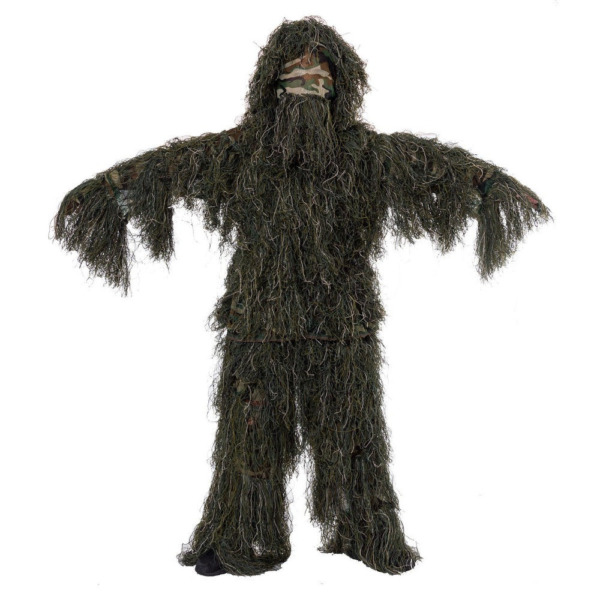 Ghillie Suit For Hunting Jungle Camouflage Forest Camo For Sniper Tactical Gear $86.31