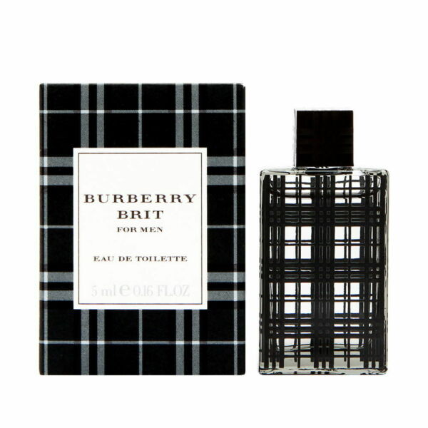 Burberry Brit by Burberry for Men 0.16 oz EDT Mini Brand New $9.99