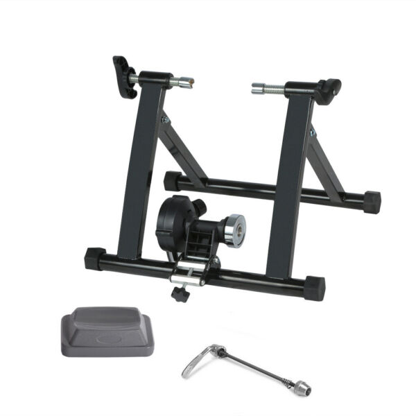 Bicycle Trainer Stand Stationary Stand Bike Magnetic For Indoor Exercise $77.80