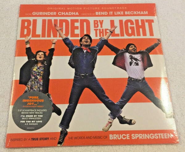 #x27;BLINDED BY THE LIGHTquot; Movie Soundtrack: 2019 NEW 2 LP SET: BRUCE SPRINGSTEEN