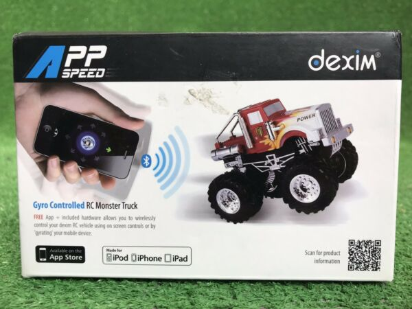 New In Box APP SPEED DEXIM GYRO CONTROLLED RC MONSTER TRUCK