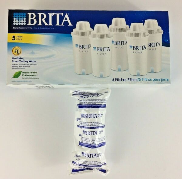 6 Brita Pitcher Replacement Water Filters Model OB03