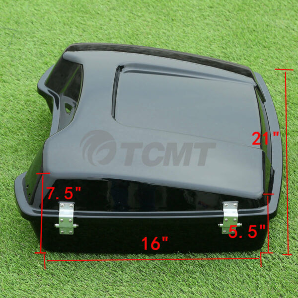 5.5quot; Razor Pack Luggage Trunk For Harley Tour Pak Touring Electra Glide 97 13 US $160.00