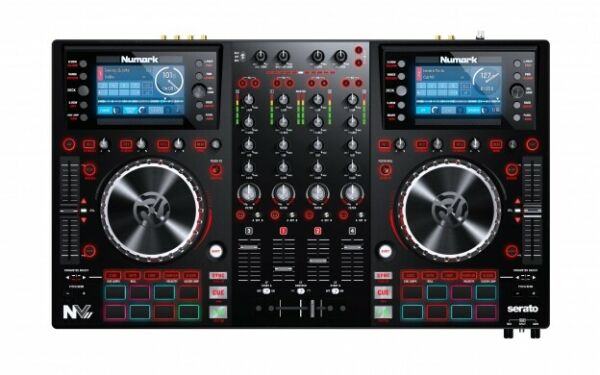 Numark NVII Quad Deck Intelligent Dual Display controller for Serato SAVE $369.00