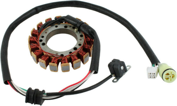 NEW STATOR FITS YAMAHA ATV GRIZZLY 400 450 WOLVERINE 450 5ND 81410 00 00 $148.52