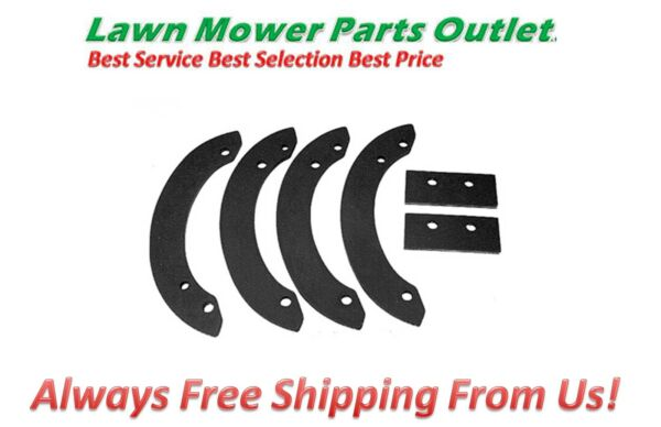 Snow Blower Rubber Paddle Set for Honda HS520 06720 V10 030 6672448