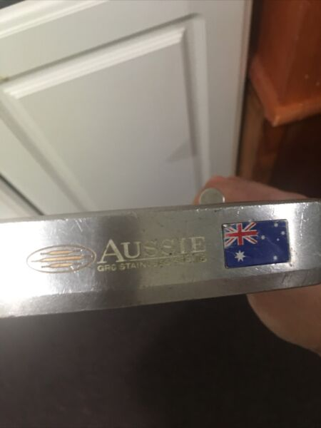 "Rife Aussie GR6 Stainless Series Putter 34"" Excellent Condition Needs New Grip"