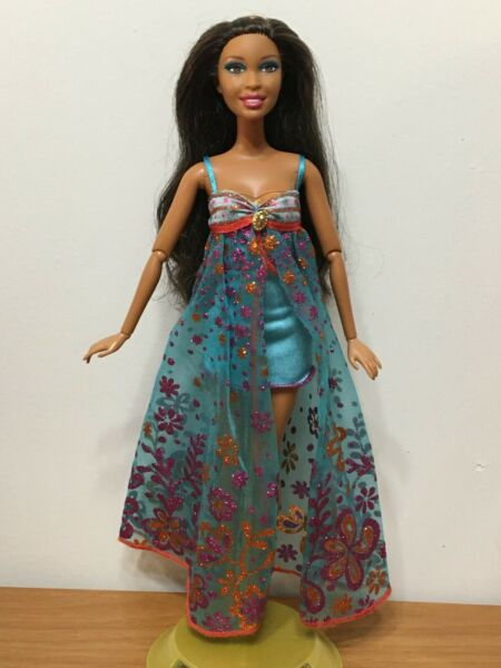Barbie Fashionistas Swappin#x27; Styles In The Spotlight Artsy Nikki Doll Joint Rare $49.98