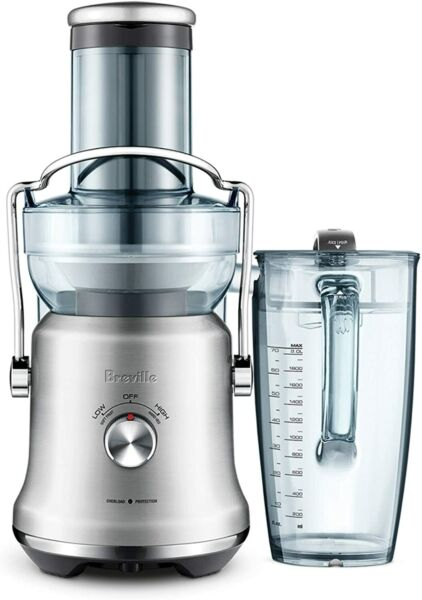 Breville BJE530BSS Juice Fountain Cold Plus Centrifugal Juicer Brushed Stainles