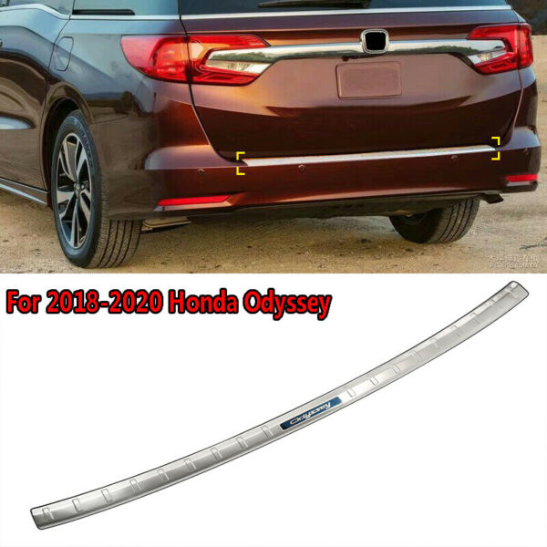 Outer Rear Sill Bumper Protector Cover trim For 2018 20 Honda Odyssey US Model $23.99