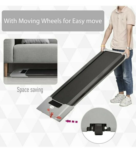 Soozier 500w electric motorized treadmill fitness jogging running led screen $420.00