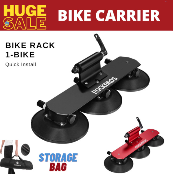 ULTRA Bike Bicycle Rack Suction Roof Top Bike Car Racks Carrier Quick Install $195.00